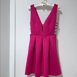 Love culture pink party dress